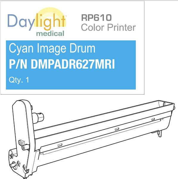Cyan drum RP610
