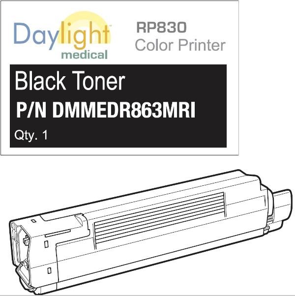 Black toner RP830