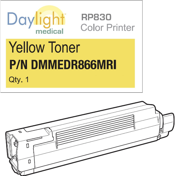 Yellow toner RP830